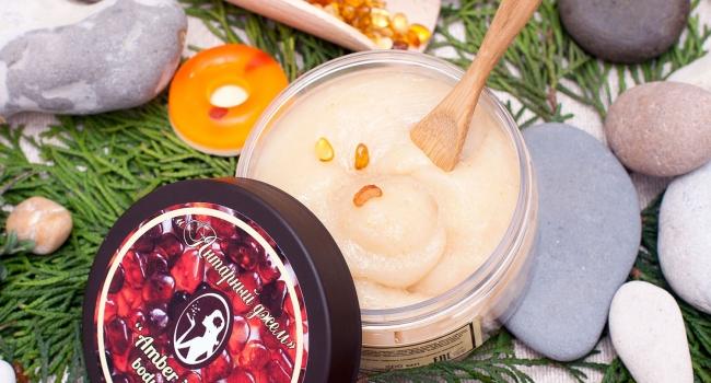 Джем-мыло для тела «Янтарный»